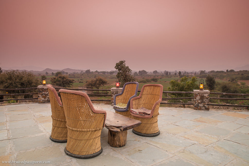 Terrace at Utsav Camp V Resorts Sariska