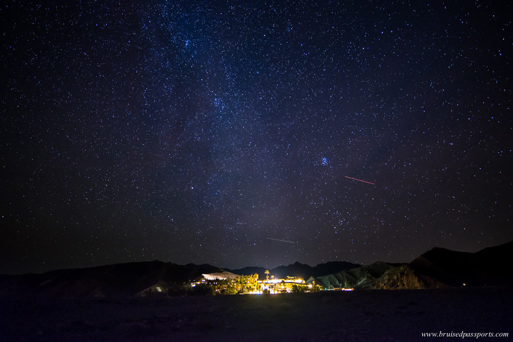 Furnace Creek Inn hotel Death Valley National Park perfect for stargazing
