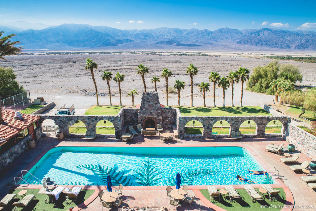 pool at Furnace Creek Inn Death Valley National Park