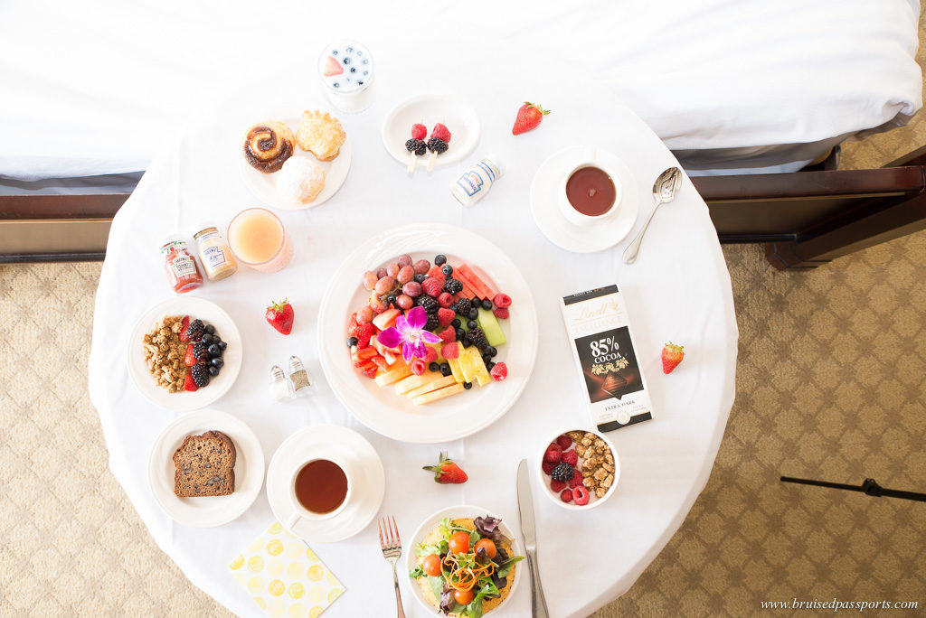 Breakfast in the room at JW Marriott Las Vegas Resort and Spa