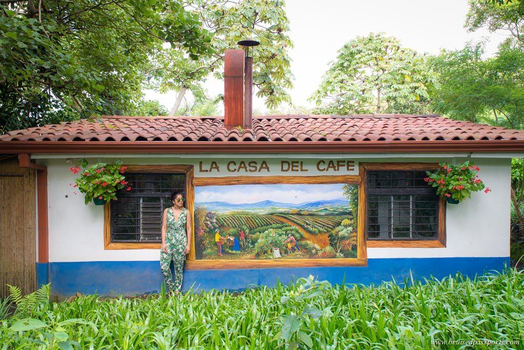 Coffee plantation tour at Finca Rosa Blanca San Jose Costa Rica