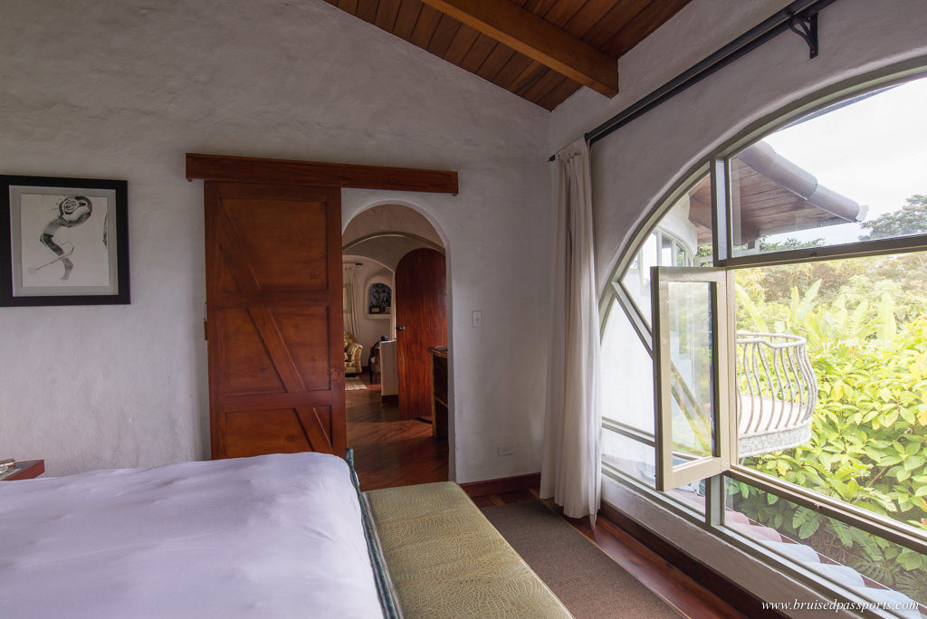 Our suite at Finca Rosa Blanca