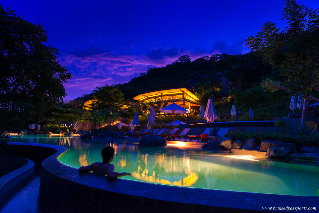 Infinity pool at Andaz Papagayo Peninsula Costa Rica