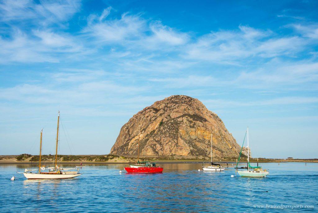 Morro rock Morro Bay California