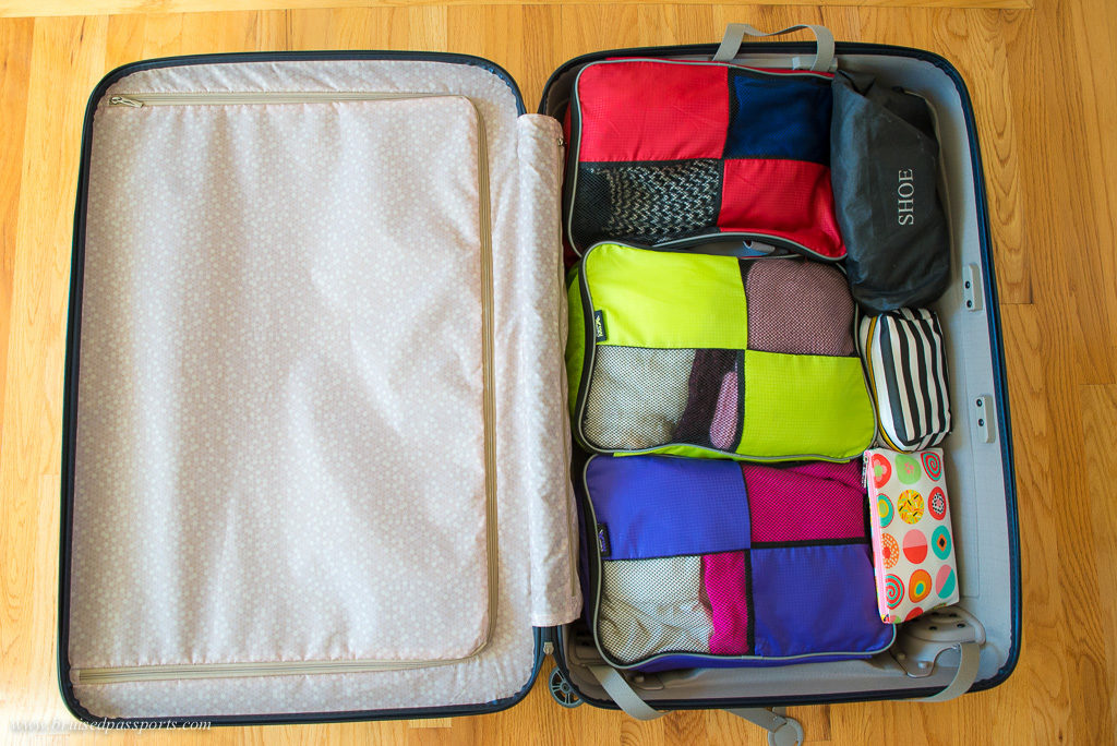 Packing cubes are perfect for travelling - we love em :)