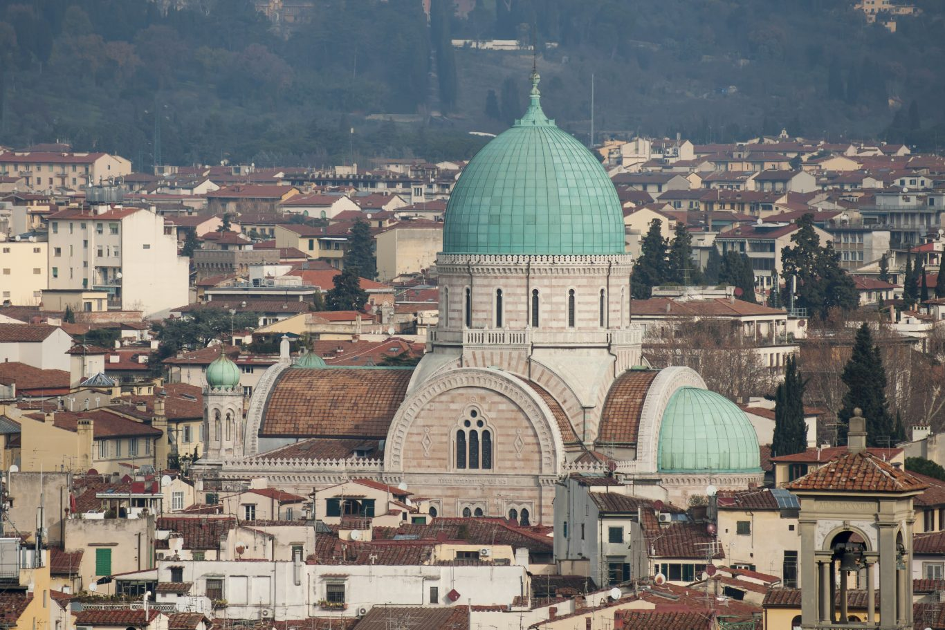 The Synagogue in Florence