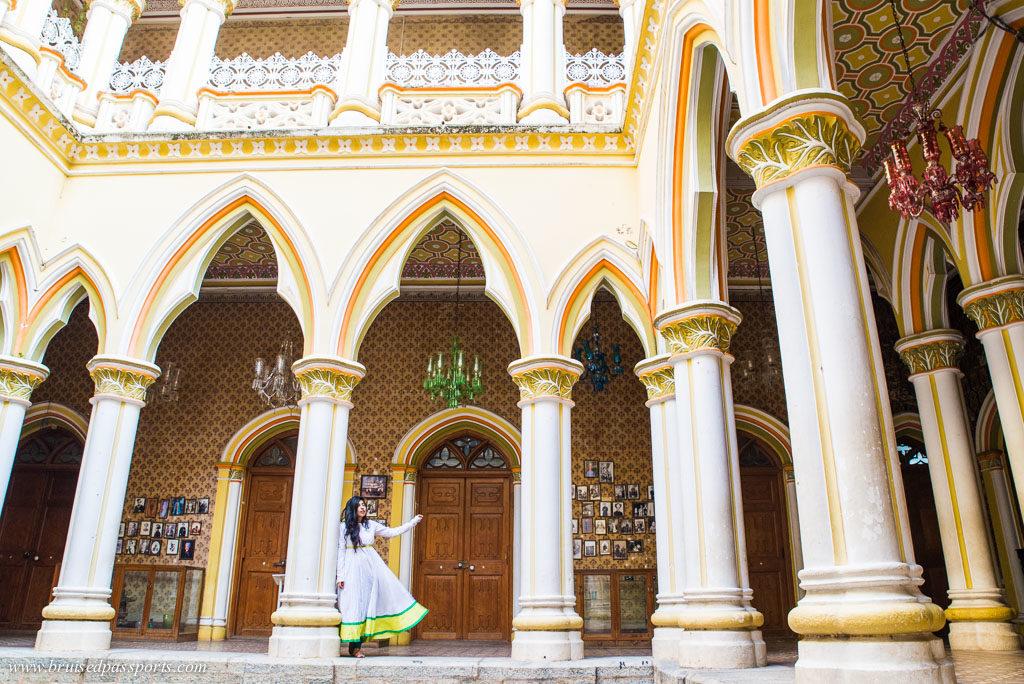 Bangalore Palace interiors