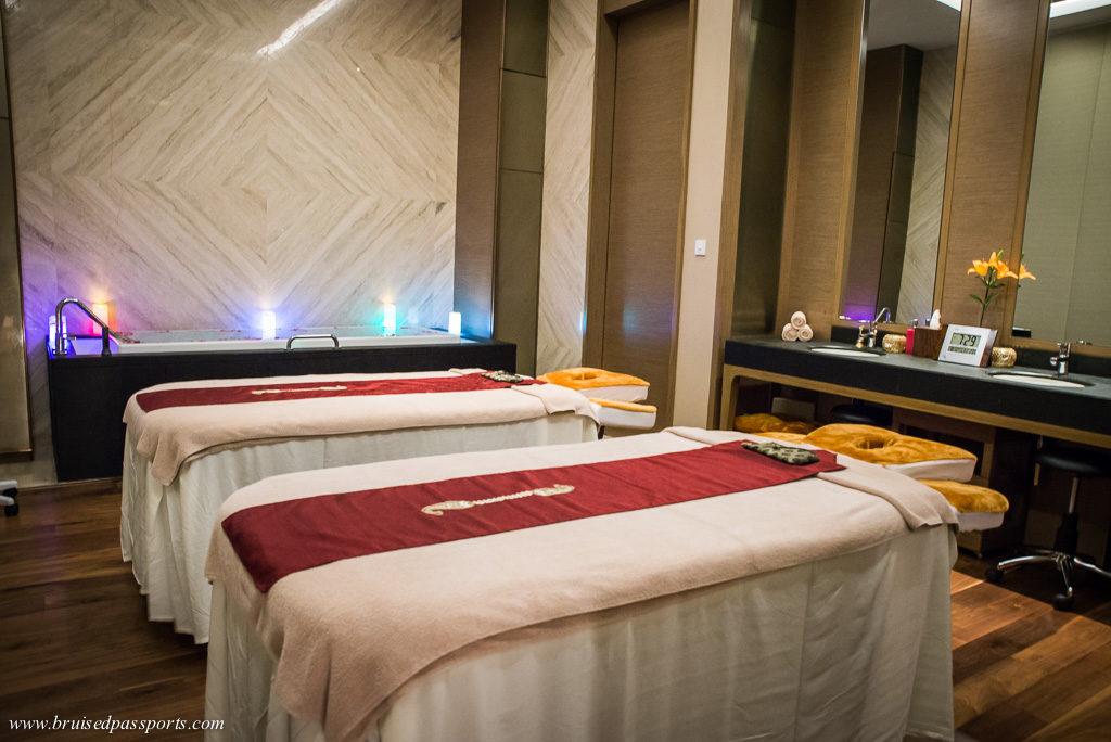 Spa at Shangri La Bengaluru India