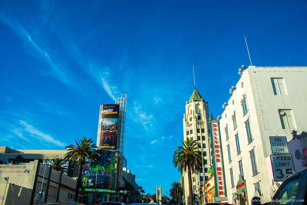 Walking around West Hollywood