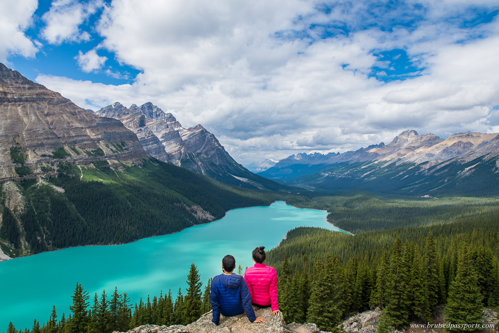 Emerald lake in Banff Canada on one of the best road trips in the world