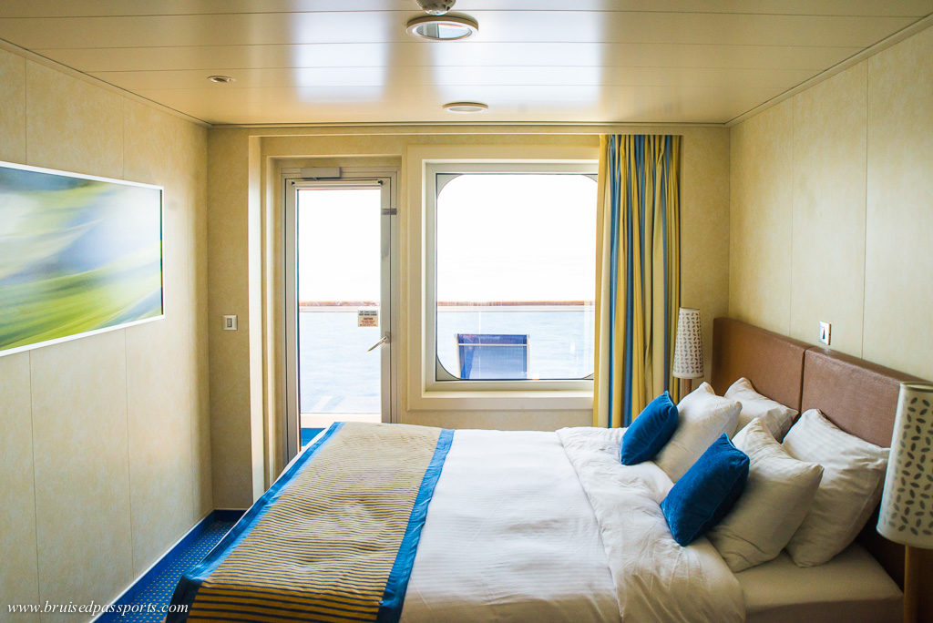 Our cabin on Carnival Breeze