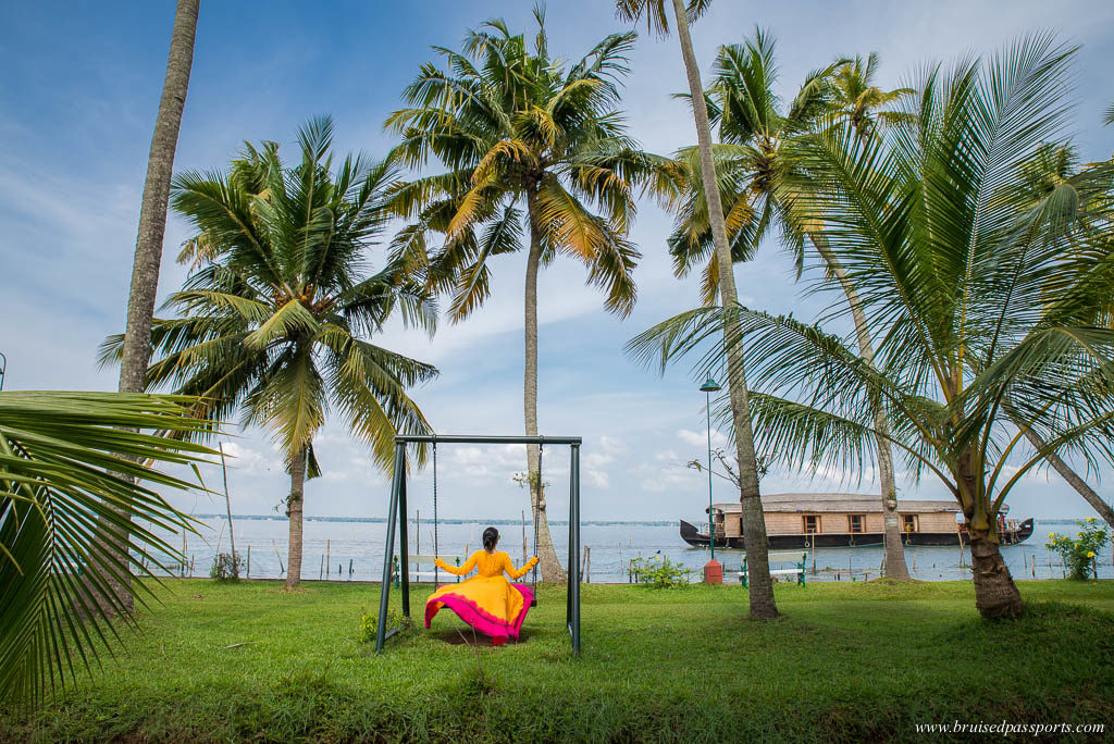 CGH coconut lagoon hotel grounds