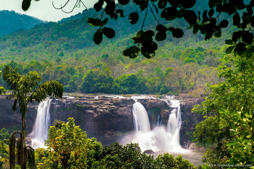 The Athirapally Waterfalls need to feature on your itinerary for a road trip in Kerala