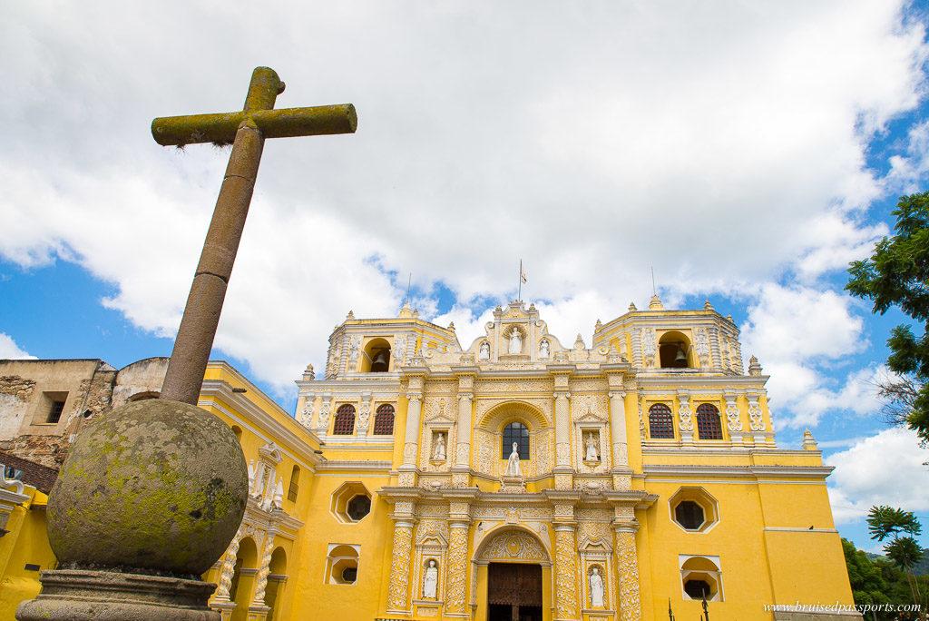 Iglesia De La Merced in Antigua Guatemala