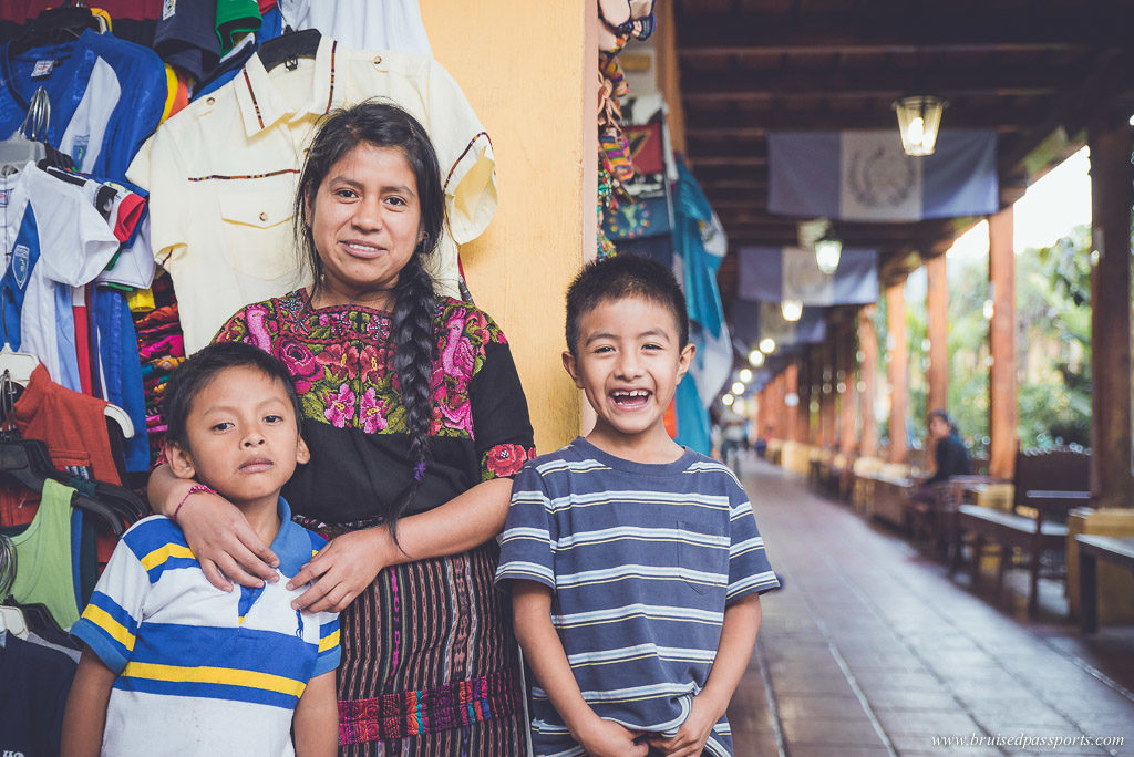 Mercado De Artesanias in Antigua Guatemala