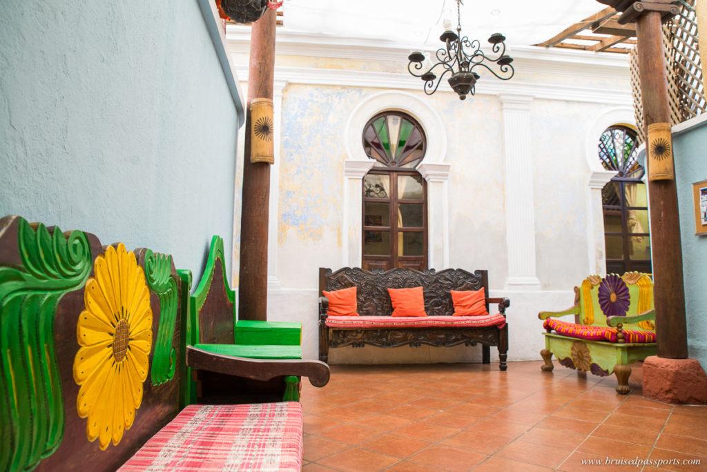 Uxlabil hotel Antigua Guatemala Interiors