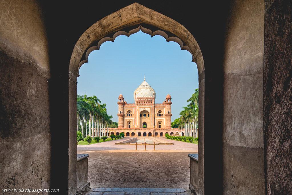 Safdarjung Tomb Delhi sunrise