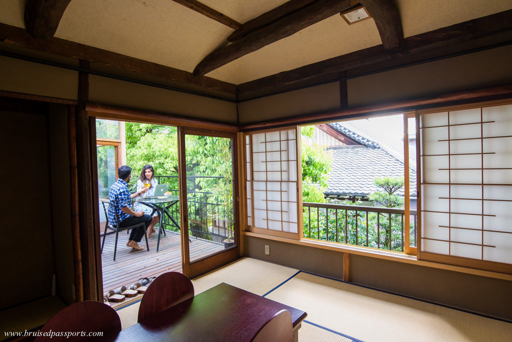 traditional and luxurious Machiya Maya in Kyoto