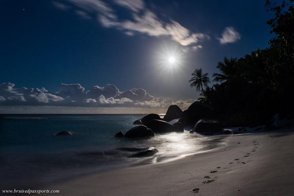 Hilton labriz beach at Silheoutte island