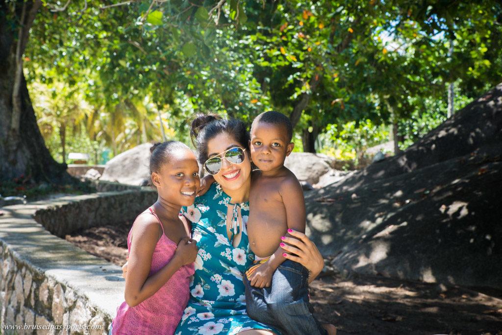 locals in Seychelles