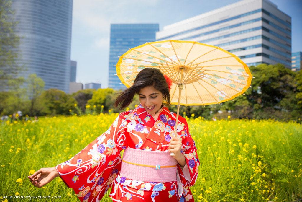 Kimono rental in Tokyo
