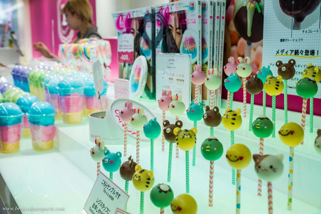 cute candy in Harijuku Totti's candy store in Tokyo