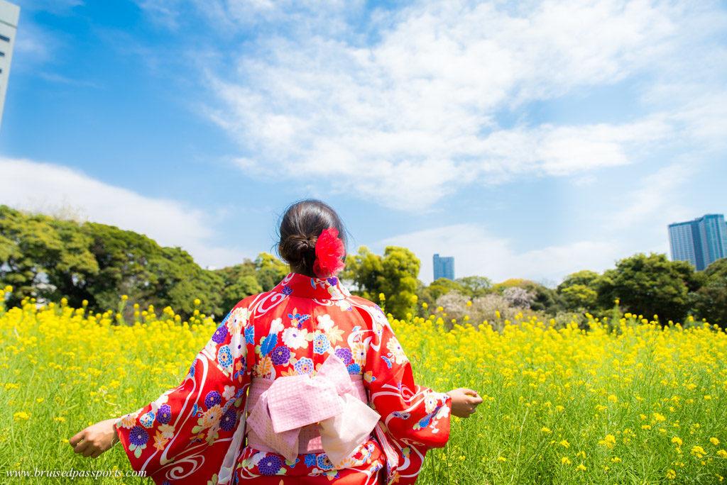 kimono rental Japan Tokyo
