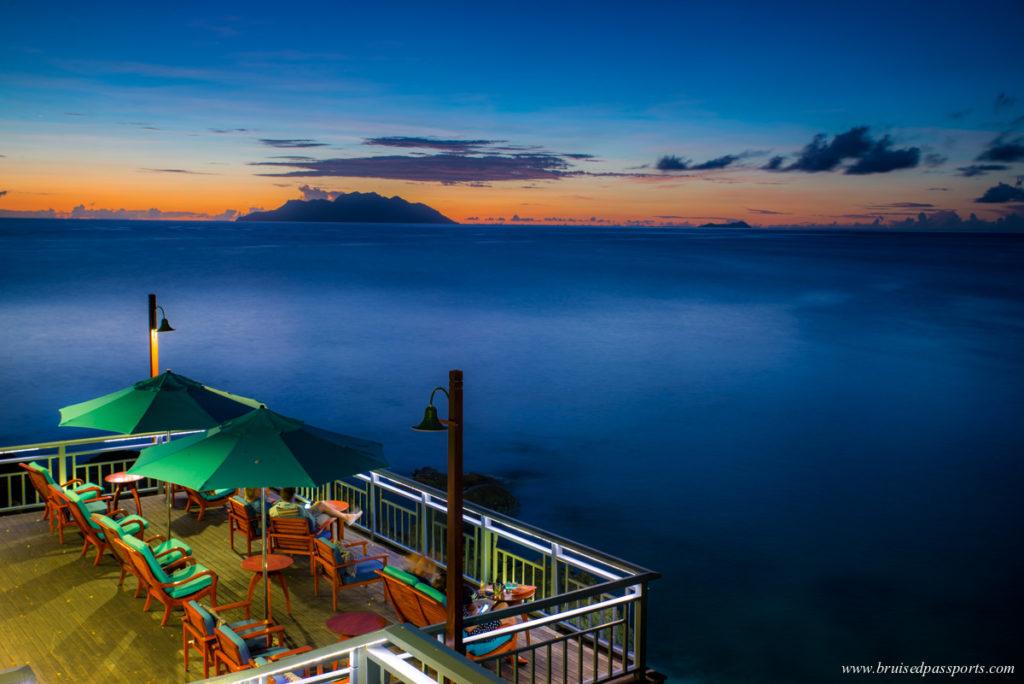 Hilton Northolme Seychelles Sundowners at Sunset