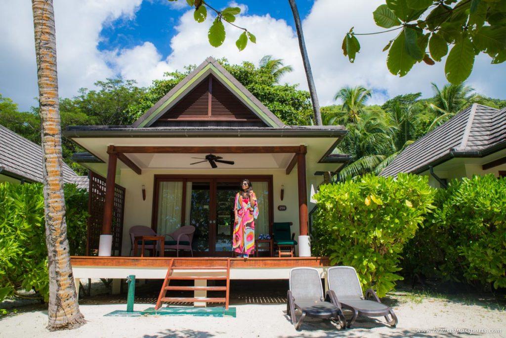 spacious beach villas at Hilton Labriz