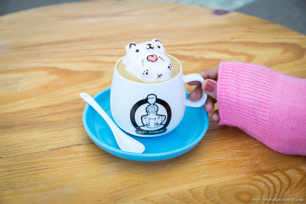 3D coffee in Hong Kong