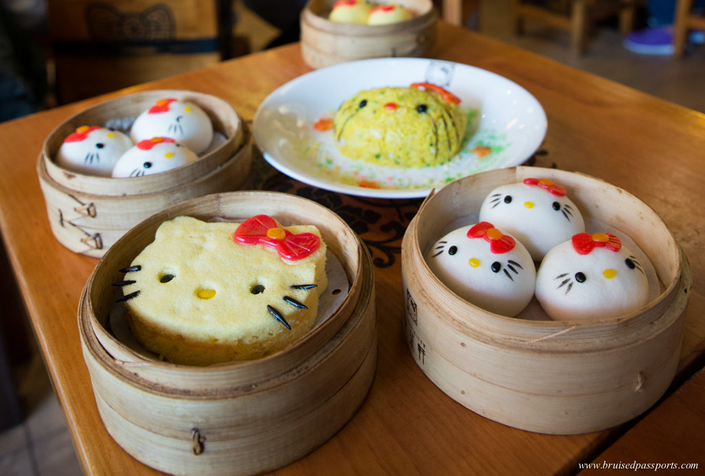 hello kitty theme cuisine in Hong Kong