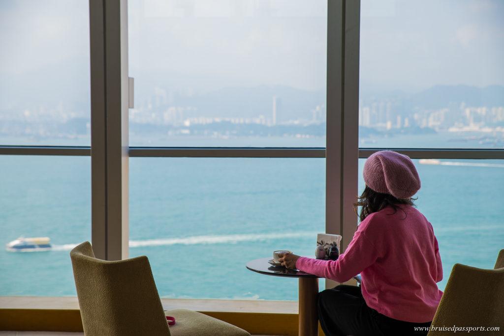 Coffee at hotel Jen Hong Kong