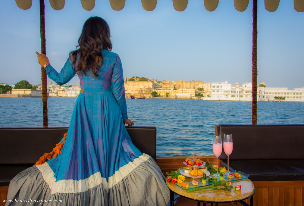 Lake Pichola sunset cruise things to do in Udaipur