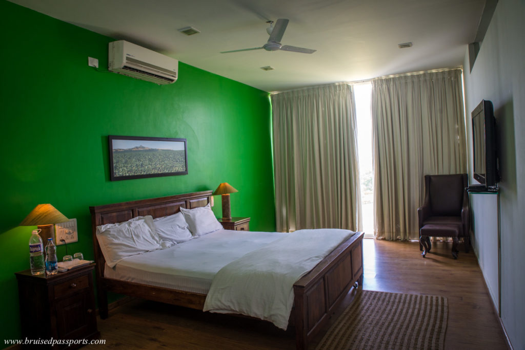 Rooms at Fratelli vineyards in Akluj Maharashtra