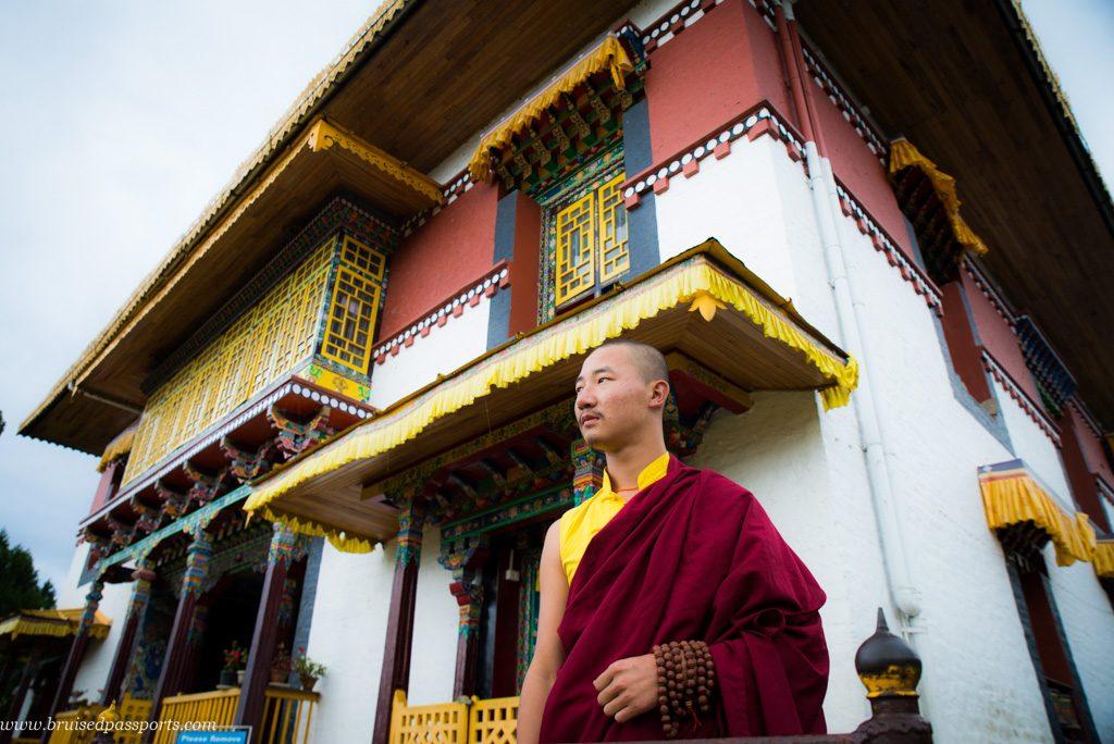 Pemayangtse monastery monk Sikkim