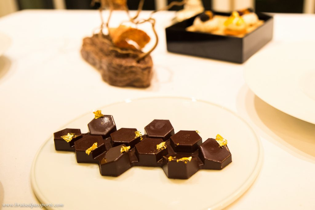 Chocolate at L'abeille Shangri-La Paris
