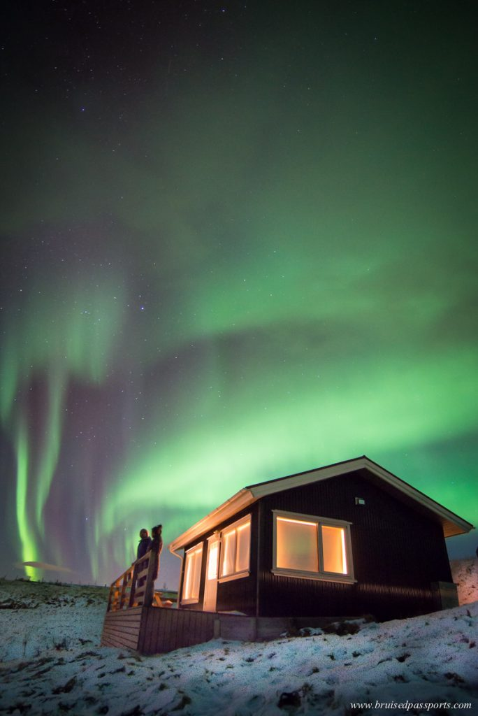 Northern lights photography tips cottage