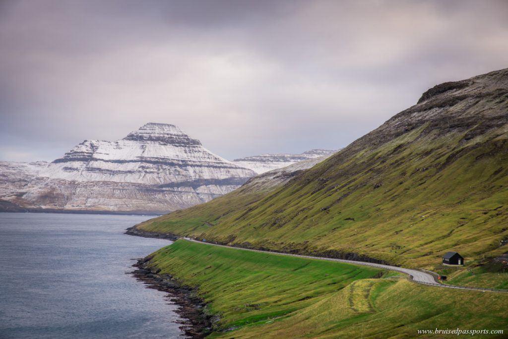 Driving in Faroe Islands