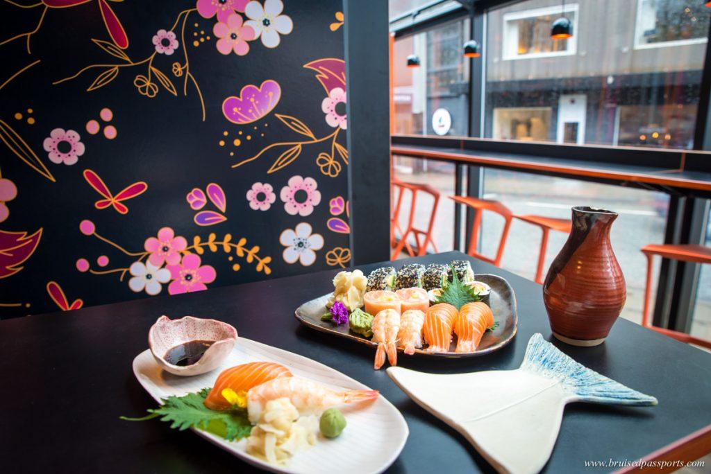 Japanese Sushi restaurant in Torshavn