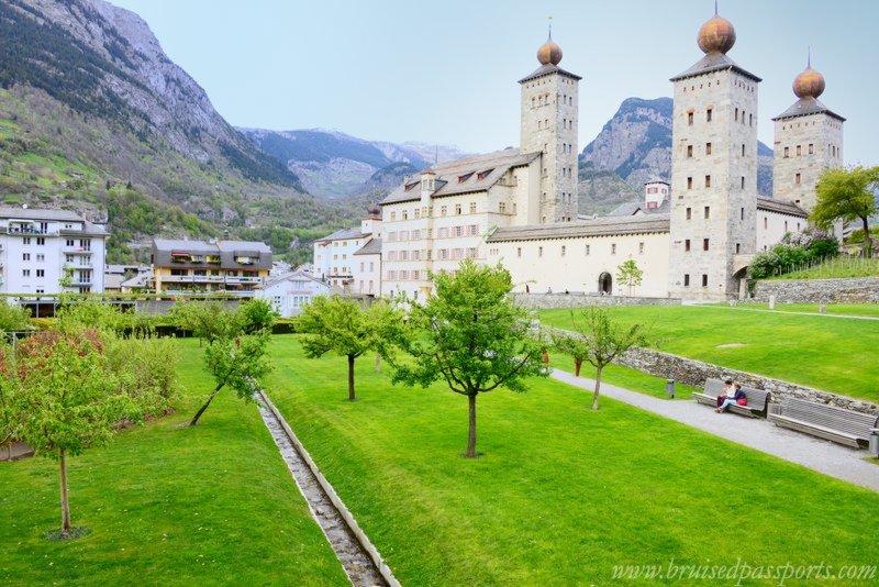 Road Trip in Switzerland Brig
