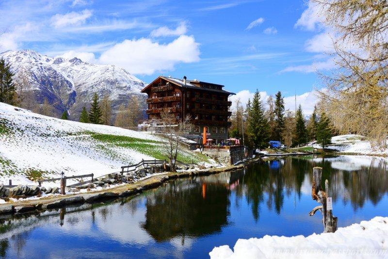 Road Trip In Switzerland Grachen