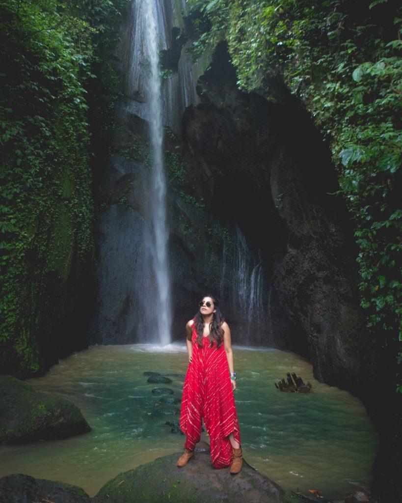 Pengempul waterfall near Ubud in BAli