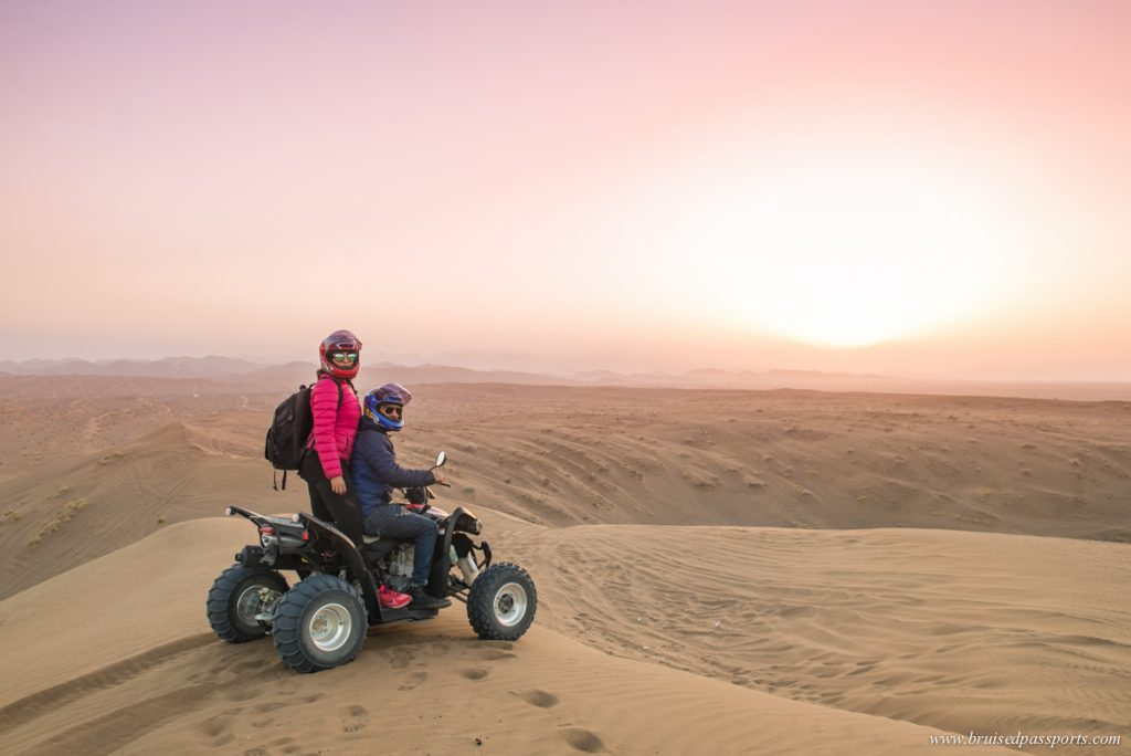 Quad Biking at Dunes By Al Nahda