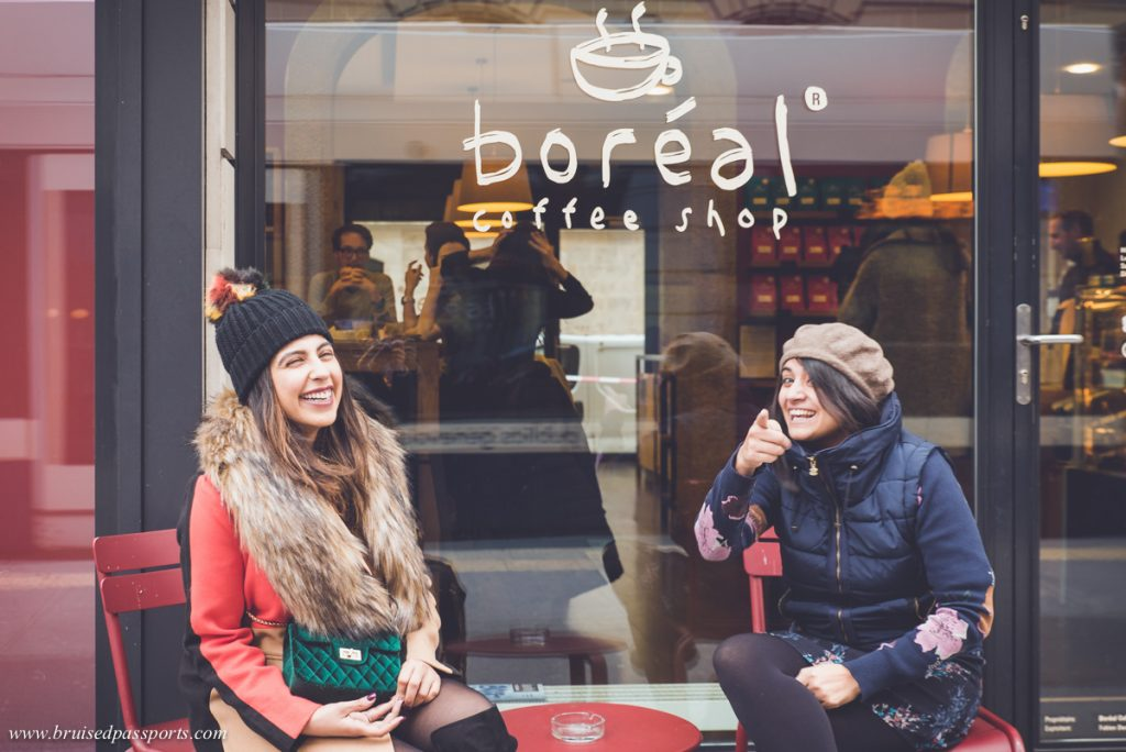Speciality coffee in Geneva at Cafe Boreal