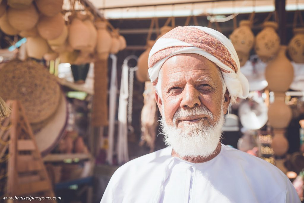 Local Omani Man in a souk