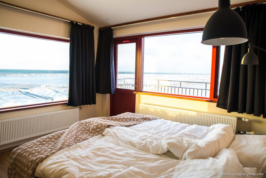 Langaholt guest house in Snaefellsness - room facing the ocean