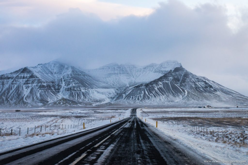Winter road trip in Iceland's Snaefellsness Peninsula