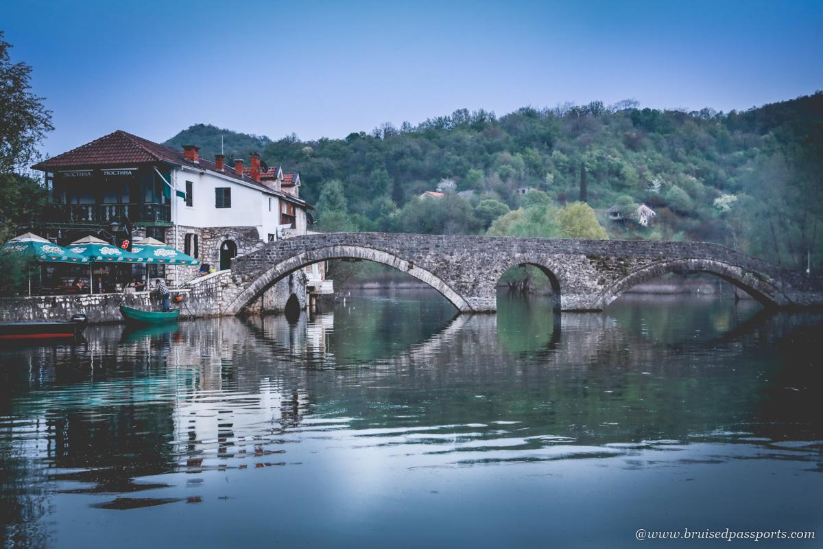 Cetinje Bridge in Rijeka Crnojevića
