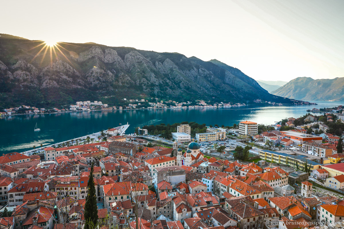 Kotor vantage point hike