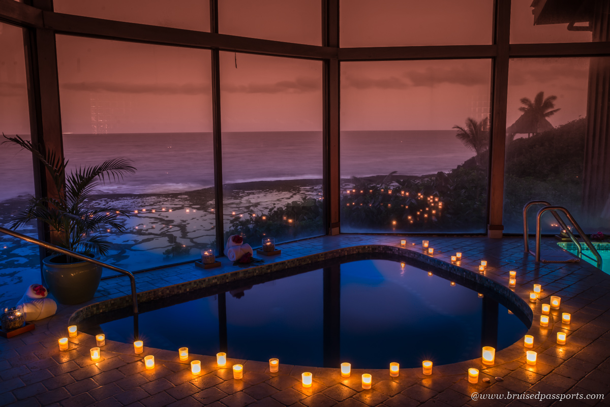 a sunset massage is perfect if you're on your honeymoon in Fiji
